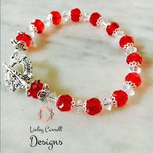 Jewelry - Red Swarovski Crystal Bracelet